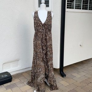 Grace dress size extra large leopard print